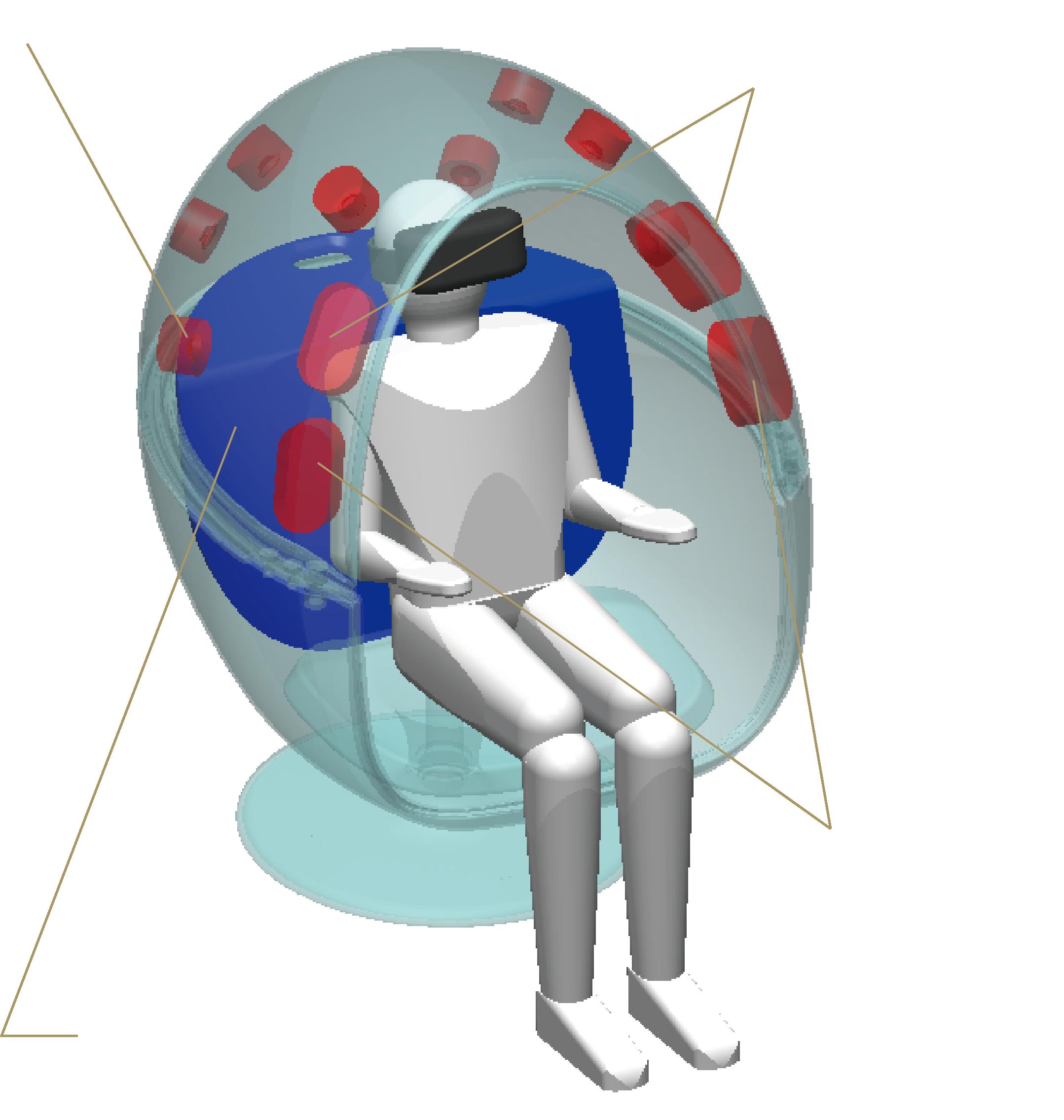 VRS1のスピーカーユニット配置イメージ図