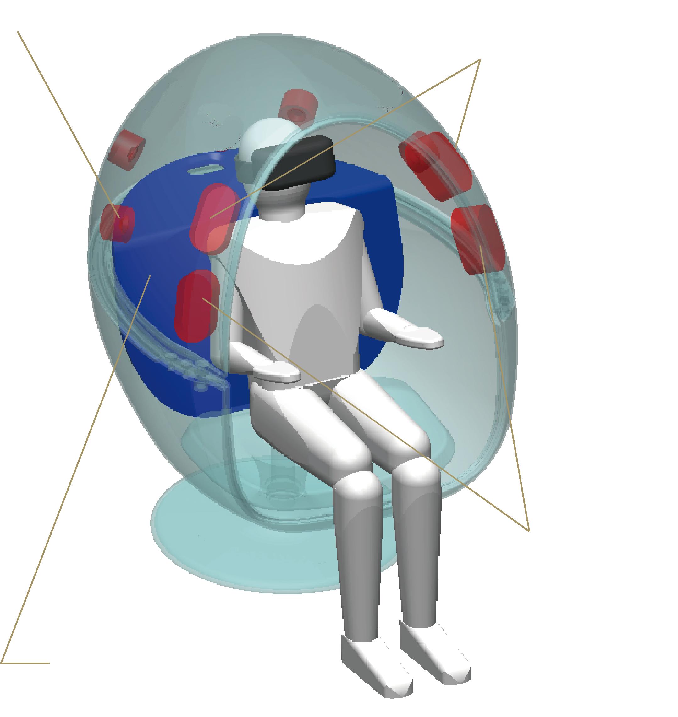 VRS2のスピーカーユニット配置イメージ図